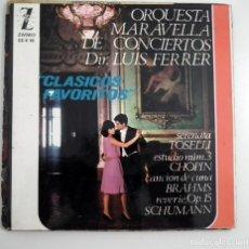Discos de vinilo: SINGLE CLASICOS FAVORITOS - ORQUESTA MARAVELLA . Lote 130445054