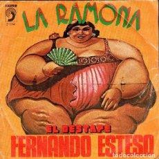 Discos de vinilo: FERNANDO ESTESO – LA RAMONA (ESPAÑA, 1976). Lote 130453882