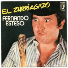 Discos de vinilo: FERNANDO ESTESO – EL ZURRIAGAZO (ESPAÑA, 1976). Lote 130453910