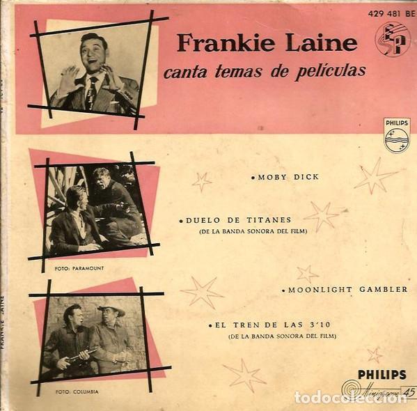 FRANKIE LAINE– CANTA TEMAS DE PELICULAS (ESPAÑA, 1958) (Música - Discos - LP Vinilo - Bandas Sonoras y Música de Actores )
