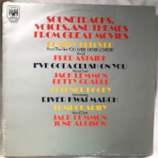 Discos de vinilo: LP - SOUNDTRACKS, VOICES AND THEMES FROM GREAT MOVIES - MARBLE ARCH RECORDS - 1959-INGLATERRA (MONO). Lote 130454786