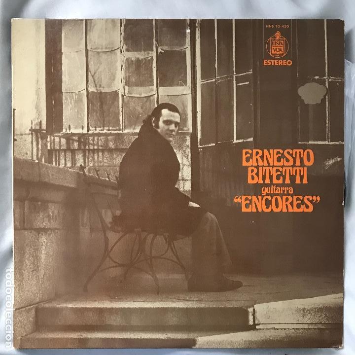 ERNESTO BITETTI _ENCORES_ 1975 (Música - Discos - LP Vinilo - Country y Folk)