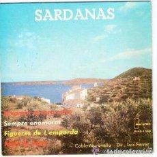 Discos de vinilo: COBLA MARAVELLA - SARDANAS - EP IBEROFON (IB-45-1209) (EL CANARI ENCARA SALTA + 3). Lote 130470826