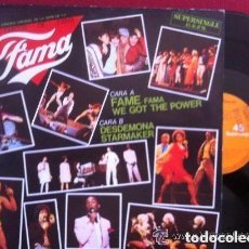 Discos de vinilo: LOS CHICOS DE FAMA - FAME - MAXI-SINGLE SPAIN 1983. Lote 130474574