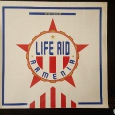 Discos de vinilo: MAXI - LIFE AID ARMENIA – WHAT'S GOING ON (CON DAVID GILMOUR, BOY GEORGE, ASWAD...). Lote 130477920