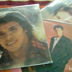Discos de vinilo: JAIRO 3 LPS: JAIRO (1984, DOBLE PORTADA) +AMOR DE CADA DÍA (1984, ENCARTE-LETRAS) + MÁS ALLÁ (1987). Lote 130483614