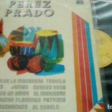 Discos de vinilo: PEREZ PRADO LA VIRGEN DE LA MACARENA - 1976 - LP DIFESCO. Lote 130484490