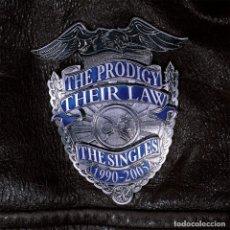 Discos de vinilo: 2LP THE PRODIGY THEIR LAW THE SINGLES 1990-2005 VINILO. Lote 130493150