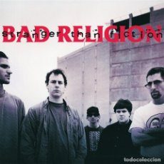 Discos de vinilo: LP BAD RELIGION STRANGER THAN FICTION HARDCORE PUNK VINILO. Lote 130500374