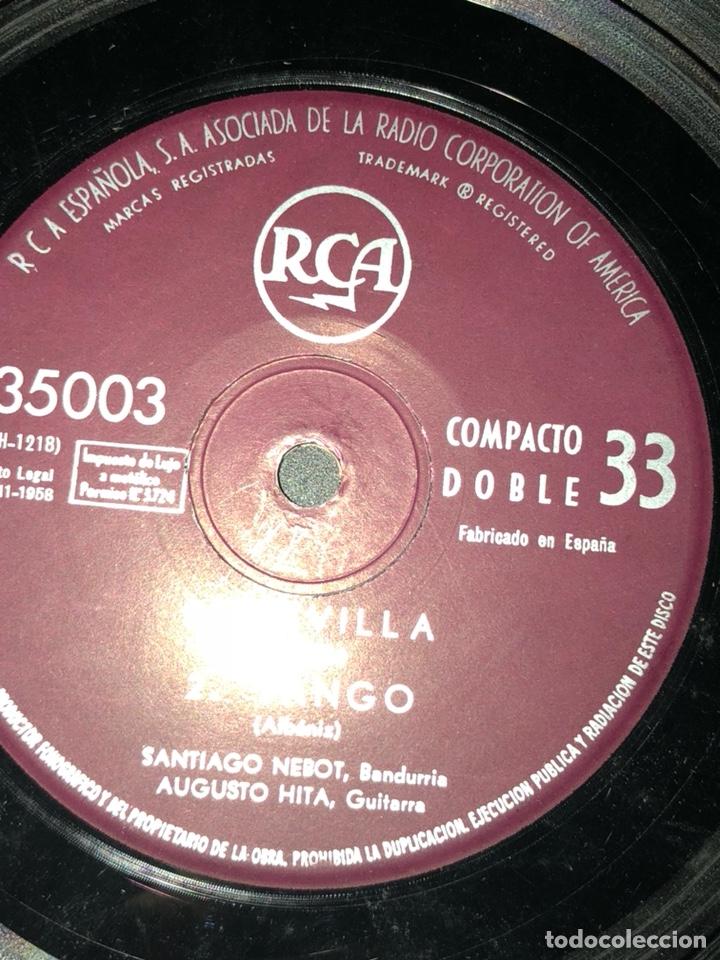 Discos de vinilo: Ep 33 compacto doble RCA.falla sarasate albeniz - Foto 3 - 130502255