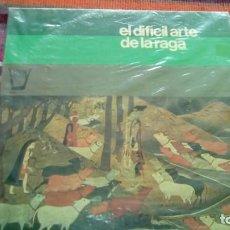 Discos de vinilo: PRAMOD KUMAR Y VINAR KUMAR (SITAR) RAJENDRA KUMAR (TABLA).EL DIFICIL ARTE DE LA RAGA.LP-1975. Lote 130503270