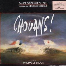 Discos de vinilo: LES CHOUANS. BSO-LP. GEORGES DELERUE. Lote 130505034