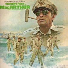 Discos de vinilo: MAC ARTHUR. BSO-LP. JERRY GOLDSMITH. Lote 130505710