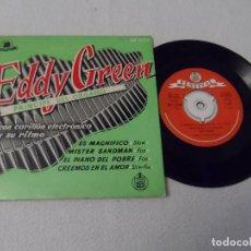 Discos de vinilo: EDDY GREEN - ES MAGNIFICO +3. Lote 130516614