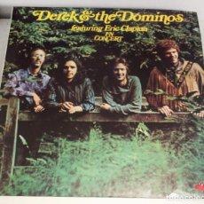 Discos de vinilo: DEREK AND THE DOMINOS FEATURING ERIC CLAPTON IN CONCERT. DOBLE LP. 1973. Lote 130519206