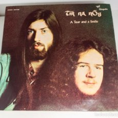 Discos de vinilo: TIR NA NOG - A TEAR AND A SMILE 1972 CHRYSALIS RECORDS LTD. PERFECTO ESTADO. Lote 130519826