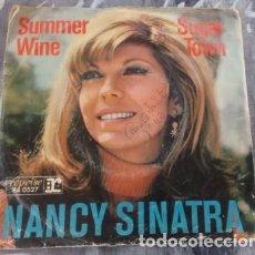 Discos de vinilo: NANCY SINATRA – SUMMER WINE - ISLAND RECORDS – 13 544 AT - 1966. Lote 130528758