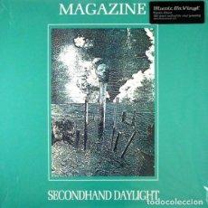 Discos de vinilo: MAGAZINE * LP 180G AUDIOPHILE VIRGIN VINYL * INSERTO CON LETRAS * SECONDHAND DAYLIGHT * GATEFOLD. Lote 158127272
