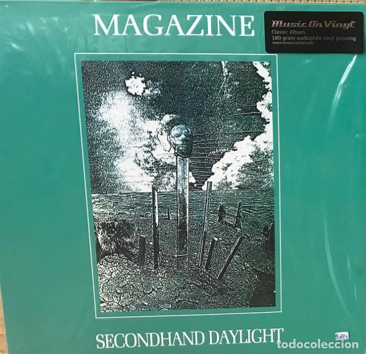 Discos de vinilo: MAGAZINE * LP 180g audiophile virgin vinyl * Inserto con letras * Secondhand Daylight * Gatefold - Foto 2 - 158127272