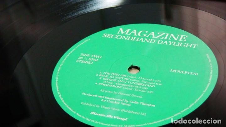 Discos de vinilo: MAGAZINE * LP 180g audiophile virgin vinyl * Inserto con letras * Secondhand Daylight * Gatefold - Foto 9 - 158127272