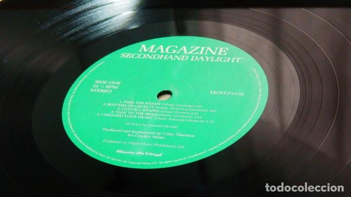 Discos de vinilo: MAGAZINE * LP 180g audiophile virgin vinyl * Inserto con letras * Secondhand Daylight * Gatefold - Foto 10 - 158127272