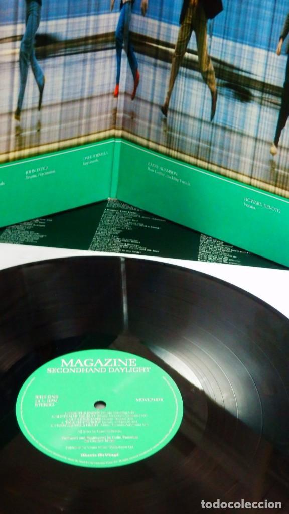 Discos de vinilo: MAGAZINE * LP 180g audiophile virgin vinyl * Inserto con letras * Secondhand Daylight * Gatefold - Foto 12 - 158127272