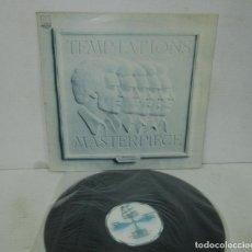 Discos de vinilo: THE TEMPTATIONS - MASTERPIECE - LP - TAMLA MOTOWN 1985 SPAIN. Lote 130536570