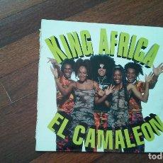 Discos de vinilo: KING AFRICA-EL CAMALEON.MAXI. Lote 130548302