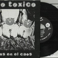 Discos de vinilo: ALGO TOXICO EP JUNTXS EN EL CAOS 2015 6 TEMAS. Lote 130554690