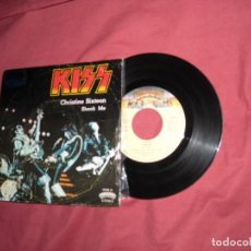 Discos de vinilo: KISS - SINGLE CHRISTINE SIXTEEN - 1978 . SPAIN VER FOTO. Lote 130555790