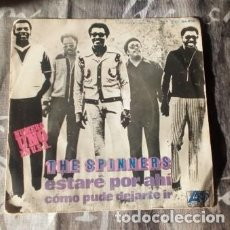 Discos de vinilo: THE SPINNERS – ESTARÉ POR AHÍ = I'LL BE AROUND - ATLANTIC – HS-896 (*). Lote 130556342