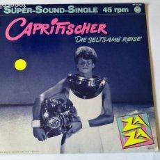 Discos de vinilo: ZA ZA - CAPRIFISCHER - 1982. Lote 130557006