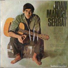 Discos de vinilo: JOAN MANUEL SERRAT - CATORCE DISCOS, DIEZ FIRMADOS - VER IMÁGENES. Lote 130558922