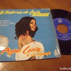 Discos de vinilo: PEPE LUIZ Y SU ORQUESTA - 4 BOLEROS DE LUIS ARAQUE - EDICION ESPAÑOLA - HISPAVOX 1961. Lote 130563142