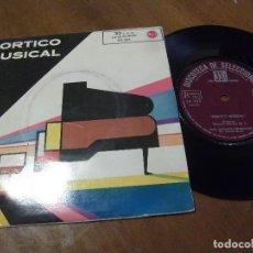 Discos de vinilo: PORTICO MUSICAL.-BEETHOVEN/ANDALUCIA/CRI ME A RIVER -EP-33RPM-RCA-1962-. Lote 130564242