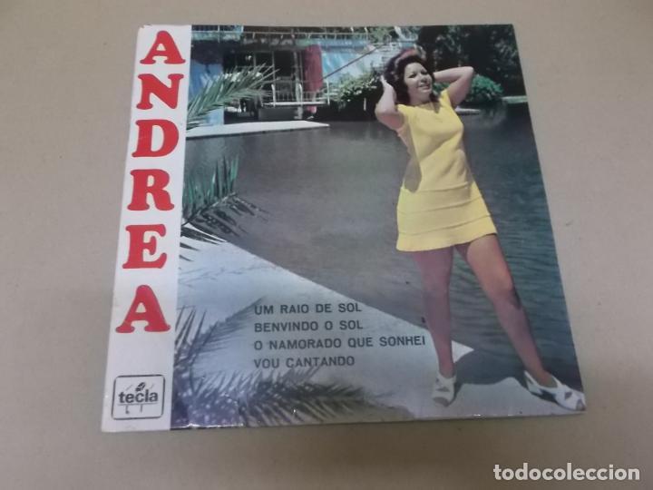 ANDREA (EP) UM RAIO DE SOL AÑO 1971 (Música - Discos de Vinilo - EPs - Pop - Rock Extranjero de los 70)