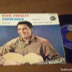 Discos de vinilo: ELVIS PRESLEY WITH THE JORDANAIRES ?– SURRENDER+3 / FRANCE RCA 86303-1961-. Lote 130568458