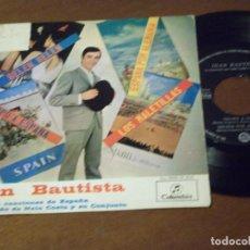Discos de vinilo: JUAN BAUTISTA / LOS MALETILLAS/ BELEN BELEN +2 FLAMENCO POP RUMBA + NELO COSTA-COLUMBIA-1964. Lote 130571158