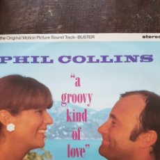 Discos de vinilo: PHIL COLLINS. A GROOVY KIND OF LOVE. MAXISINGLE. WEA. 1988. Lote 130589182