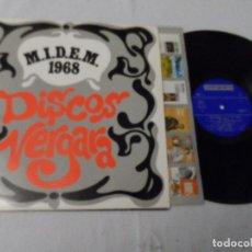 Discos de vinilo: M.I.D.E.M. 1968 DISCOS VERGARA - RECOPILATORIO. Lote 130592254