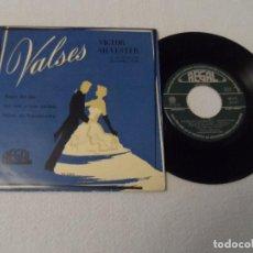 Discos de vinilo: VICTOR SILVESTER Y SU ORQUESTA DE CUERDA. ROSAS DEL SUR. VALSES DE TCHAIKOVSKY. Lote 130592554