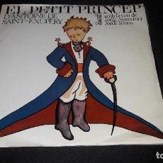 Discos de vinilo: EL PETIT PRINCEP EDIGSA. Lote 130601482
