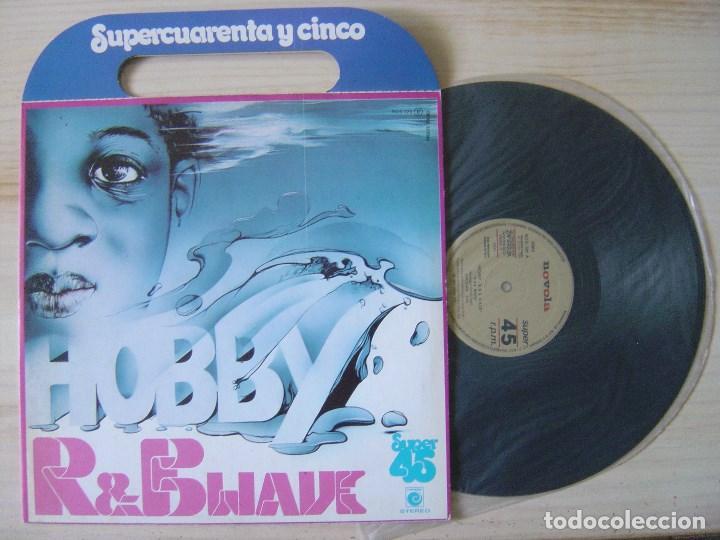 HOBBY - R&B WAVE - MAXI SINGLE PROMOCIONAL 1978 - ZAFIRO - PORTADA CON ASAS (Música - Discos de Vinilo - Maxi Singles - Funk, Soul y Black Music)
