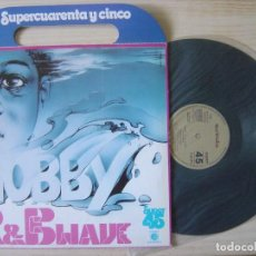 Discos de vinilo: HOBBY - R&B WAVE - MAXI SINGLE PROMOCIONAL 1978 - ZAFIRO - PORTADA CON ASAS. Lote 130620982