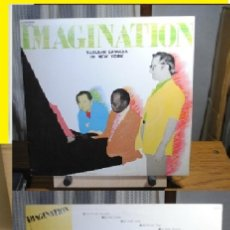 Discos de vinilo: IMAGINATION - YASUSHI SAWADA IN NEW YORK 70, RON CARTER, HANK JONES, EDIC JAPAN + INSERT, IMPECABLE. Lote 130623866