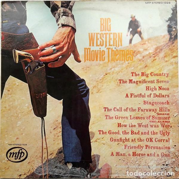 GEOFF LOVE AND HIS ORCHESTRA ?– BIG WESTERN MOVIE THEMES (UK, 1969) (Música - Discos - LP Vinilo - Festival de Eurovisión)