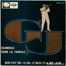 Discos de vinilo: GJ ?– SCANDALE DANS LA FAMILLE (ESPAÑA, 1965). Lote 130642130