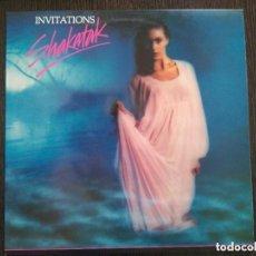 Discos de vinilo: SHAKATAK - INVITATIONS (LP) 1990. Lote 130649288