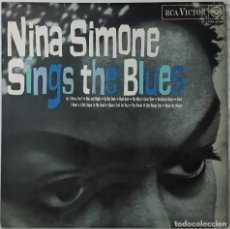 Discos de vinilo: LP - NINA SIMONE - SINGS THE BLUES. Lote 130660708