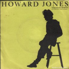 Discos de vinilo: HOWARD JONES - THINGS CAN ONLY GET BETTER / WHY LOOK FOR THE KEY SINGLE RF-3509 . Lote 130675619
